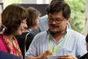 Kennenlern-Bingo auf dem OERcamp West 2018 - Foto von Christopher Dies