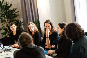 Diskussion in der Session auf dem OERcamp Ost in Berlin - Foto von Tilman Vogler für OERde17