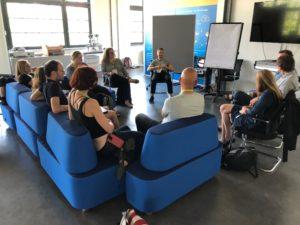 Session auf dem OERcamp Ost 2018 - Foto von Gabi Fahrenkrog / OERcamp