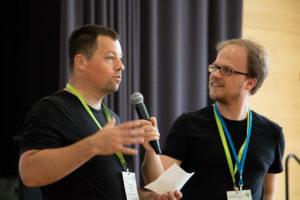 Sessionplanung auf dem OERcamp Nord 2018 - Foto von Christopher Dies / OERcamp