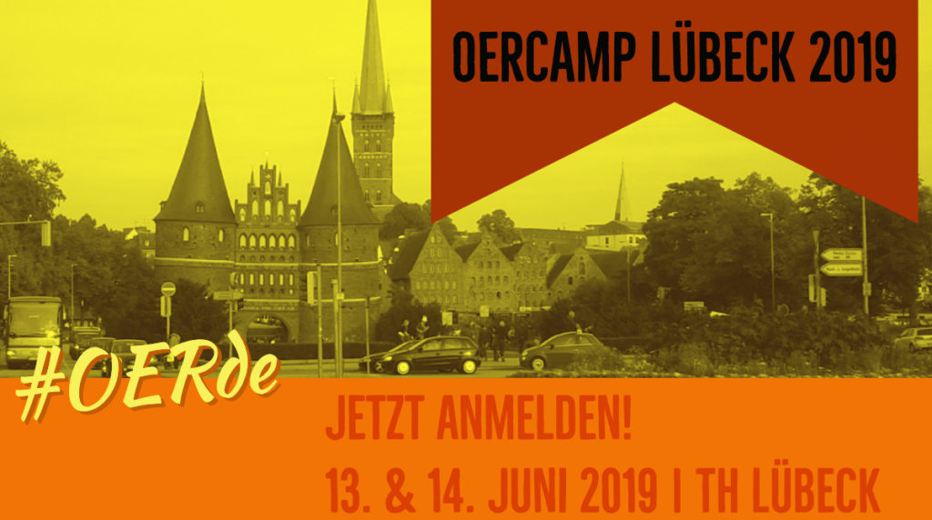 OERcamp Lübeck Anmeldung
