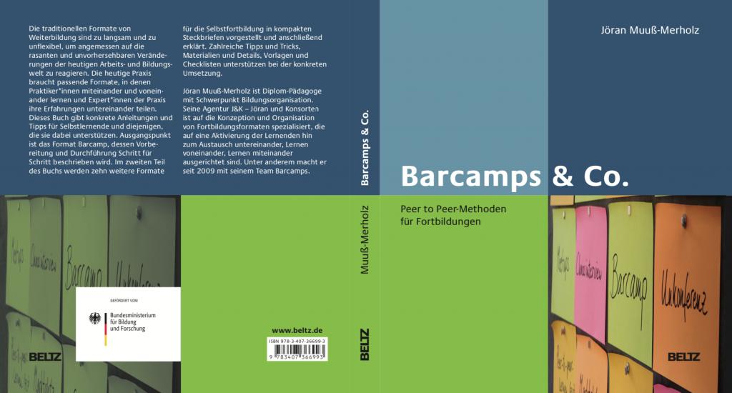 """Umschlag zum Buch """"Barcamps & Co"""""""