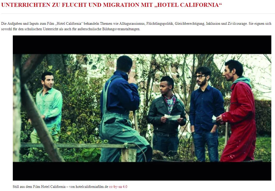 Unterrichten zu Flucht und Migration