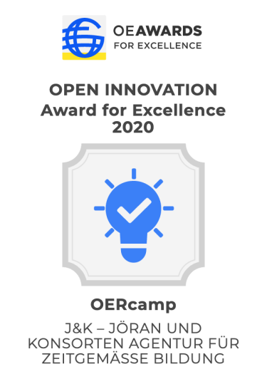 ausgezeichnet mit dem Open Innovation Award for Excellence 2020