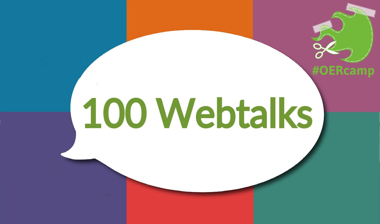 100 Webtalks zum Download –alle OERcamp Webtalks 2020/21 als Paket pro Staffel.