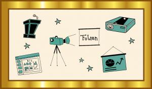 Der Gold-Standard für Präsentationsfolien als OER, Grafik: Jula Henke, Agentur J&K – Jöran und Konsorten für OERinfo, Informationsstelle OER, CC BY 4.0