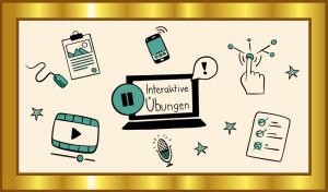 Der Gold-Standard für Arbeitsblätter und interaktive Übungen als OER, Grafik: Jula Henke, Agentur J&K – Jöran und Konsorten für OERinfo, Informationsstelle OER, CC BY 4.0