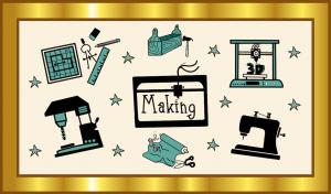 Der Gold-Standard für Making als OER, Grafik: Jula Henke, Agentur J&K – Jöran und Konsorten für OERinfo, Informationsstelle OER, CC BY 4.0