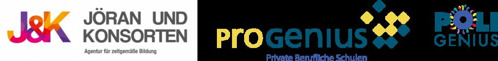 Logo J&K ProGenius PoliGenius